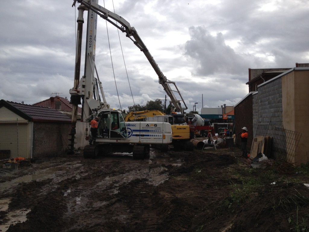 Piling Contractor, Piling Sydney, Piling Works in Sydney, bored piles, secant piles, contiguous pile wall, Piling company, piling company in Sydney